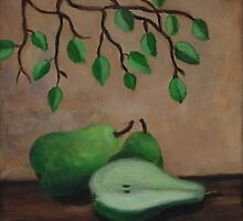 """Still life with pears"" by Gabriella Nilsson"