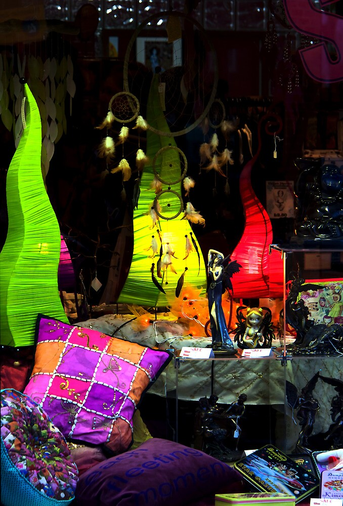 Shop window by jasminewang