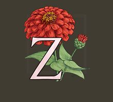 Z is for Zinnia Womens Fitted T-Shirt