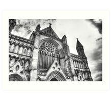 HDR Church Art Print