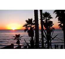 encinitas sunset 2 Photographic Print