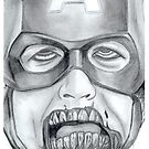Zombie Avenger - Captain America by mikmcdade