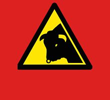 Caution: Bull Unisex T-Shirt