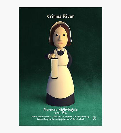 Florence Nightingale - Crimea River! Photographic Print