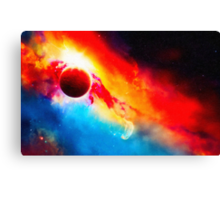 Orcus Nebula art Canvas Print
