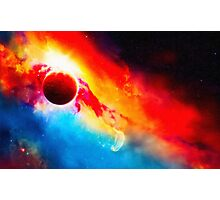 Orcus Nebula art Photographic Print