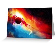 Orcus Nebula Greeting Card