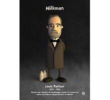 Louis Pasteur - Milkman Photographic Print