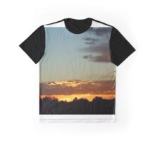 Sunset over the Rocky Mountains Graphic T-Shirt