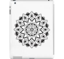 Mandala - Black/White iPad Case/Skin