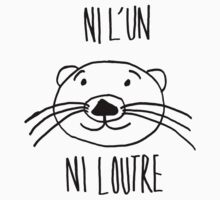 neither one nor the otter! by LittleBearShop