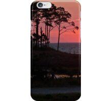 St George Island Sunset iPhone Case/Skin