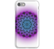 Mandala - Purple/Blue iPhone Case/Skin