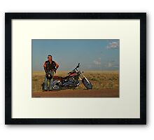 Hippo and Harley Framed Print