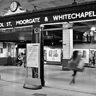 London Underground by Chilla Palinkas
