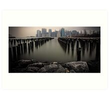 View From The Rocks Art Print
