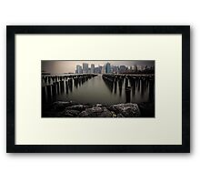 View From The Rocks Framed Print