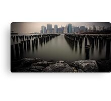 View From The Rocks Canvas Print