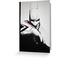 Batman Greeting Card