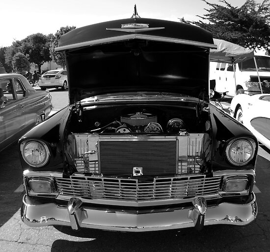 Inside a Chevy by Lucy Adams