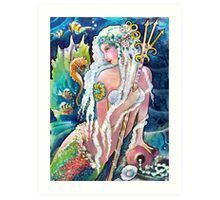 Princess Neptune Art Print