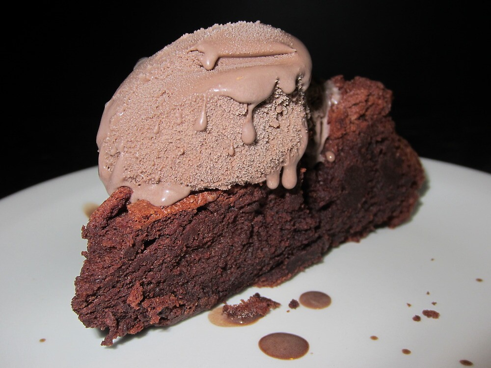 Death By Chocolate Mousse Cake by v-something