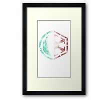 Jedi/Sith Emblem Framed Print