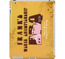 Frank's World Championship BBQ iPad Case/Skin