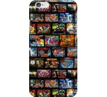 Pinball Backglass iPhone Case/Skin