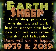 Chinese Zodiac, earth sheep, born 1979, 2019, Valxart by Valxart