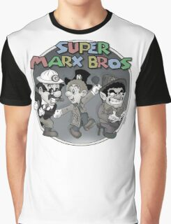 Super Marx Bros  Graphic T-Shirt