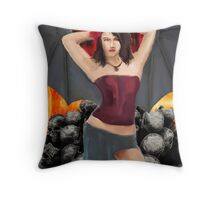 Devils play Thing Throw Pillow