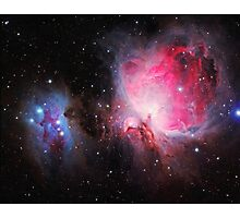 Space M42  Great Orion Nebula  Ghost Nebula art Photographic Print