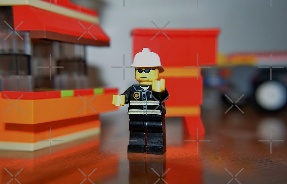 Fireman Bob to the rescue! by Scott Mitchell