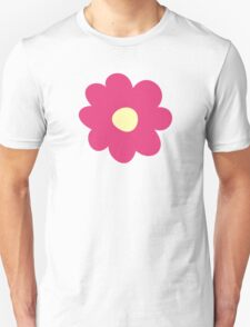 Flowers, Blossoms, Blooms, Petals - Pink Yellow  Unisex T-Shirt