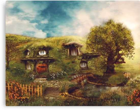 The Shire, My Dream Hobbit House by gingerkelly