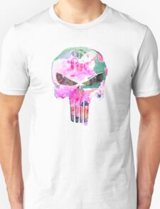 Bright Punisher Skull T-Shirt