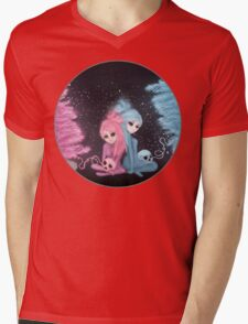 Intercosmic Christmas Mens V-Neck T-Shirt