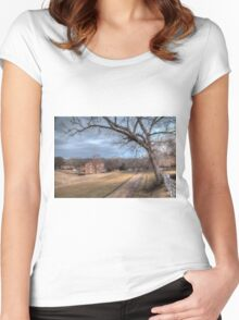 HDR Farmhouse Women's Fitted Scoop T-Shirt