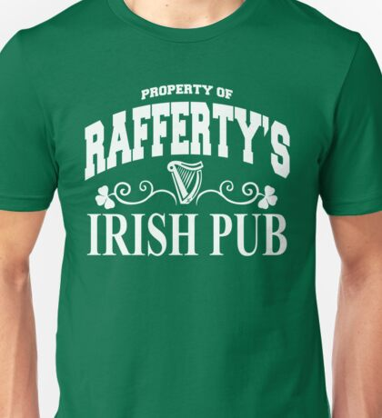 Rafferty Irish Pub Unisex T-Shirt