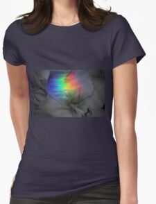 Rainbow Amaryllis  Womens Fitted T-Shirt
