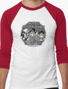 Super Marx Bros  Men's Baseball ¾ T-Shirt