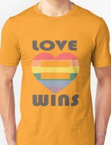 Love Wins Equality funny nerd geek geeky T-Shirt