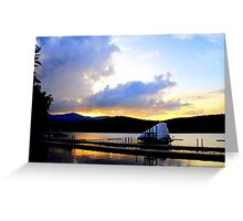 Paradox Lakefront Greeting Card
