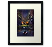 Legend of Zelda Majoras Mask Framed Print