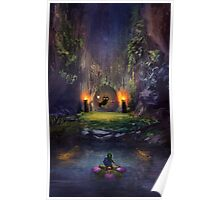 Legend of Zelda Majoras Mask Poster