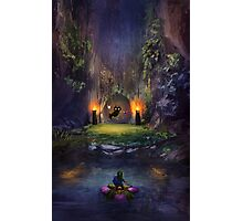 Legend of Zelda Majoras Mask Photographic Print
