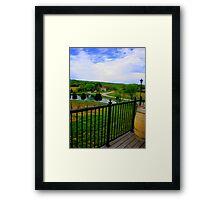 Vineyard Summer Framed Print