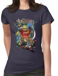Chrono Tigger Womens Fitted T-Shirt