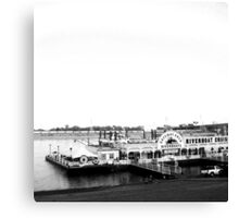 Riverboat Cruise Canvas Print